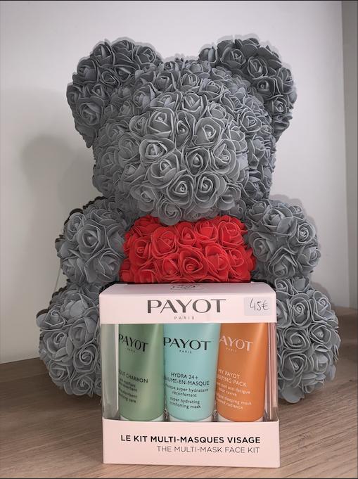 Coffret cadeau PAYOT : Le kit multi-masques visage. 45,00 €